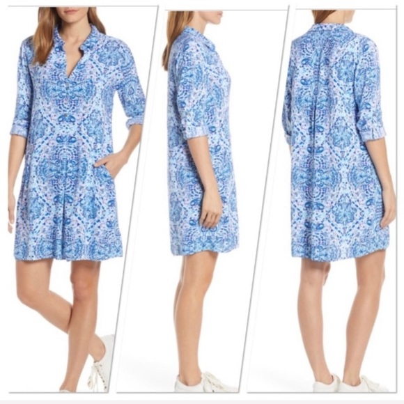 Lilly Pulitzer Dresses & Skirts - Nwot Lilly Pulitzer Lilith Shirtdress resort white